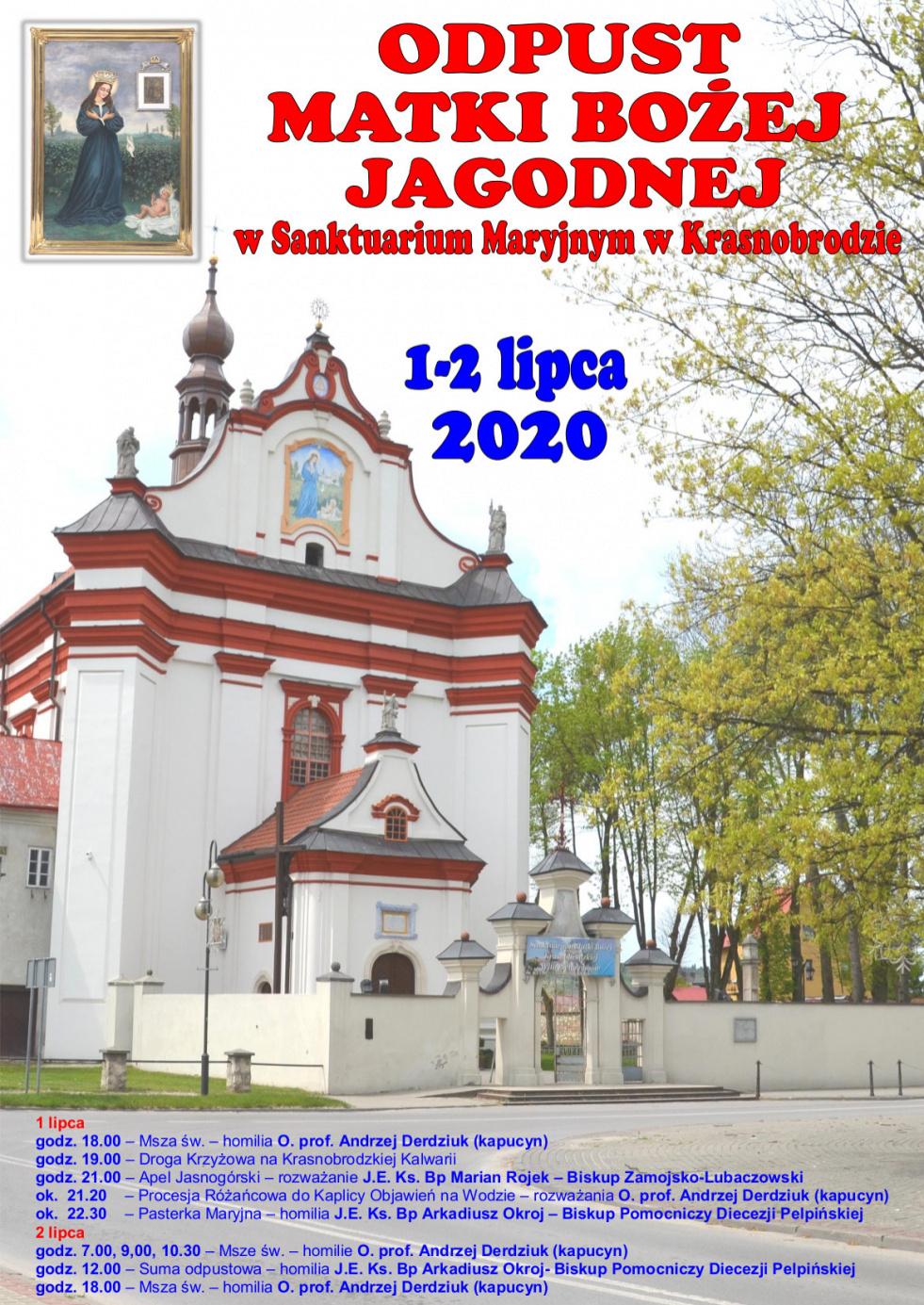 Rozpoczynają się uroczystości odpustowe w Sanktuarium Maryjnym w Krasnobrodzie