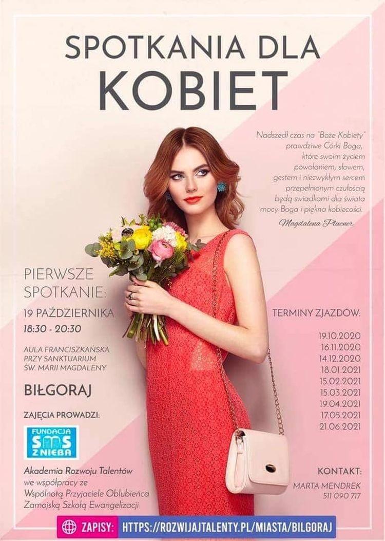 Spotkania formacyjne dla kobiet w Biłgoraju