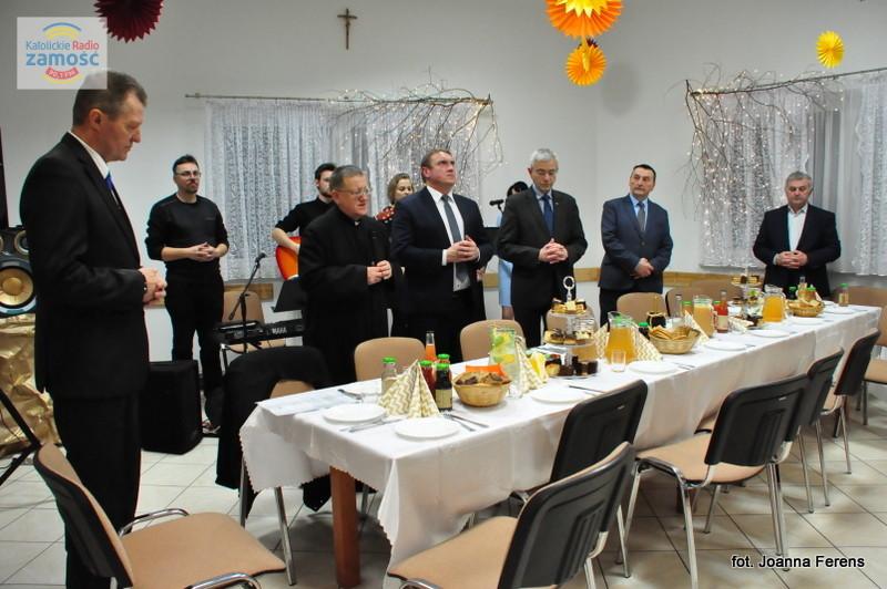 Spotkanie opłatkowe biłgorajskich rolników