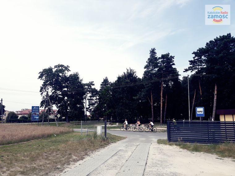 Stacja rowerowa w Nieliszu