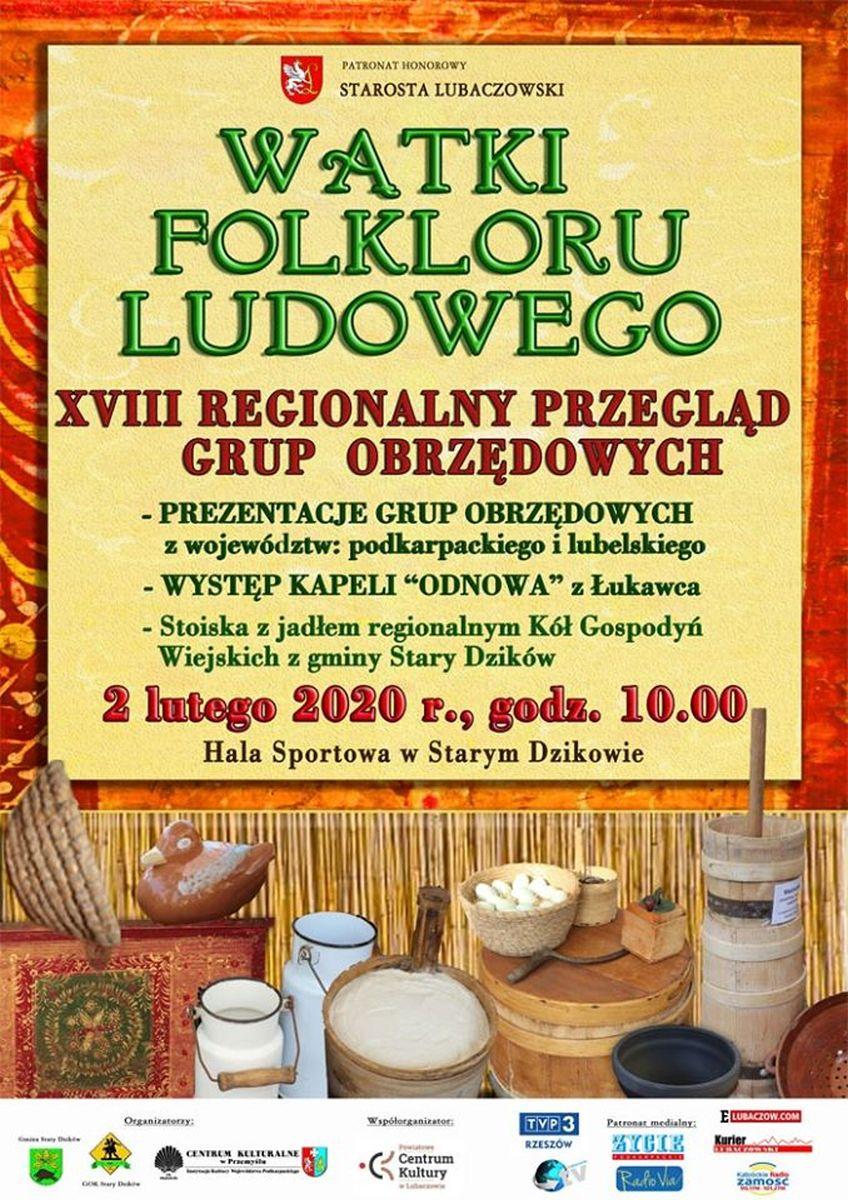 Stary Dzików. XVIII Międzywojewódzki Przegląd Grup Obrzędowych
