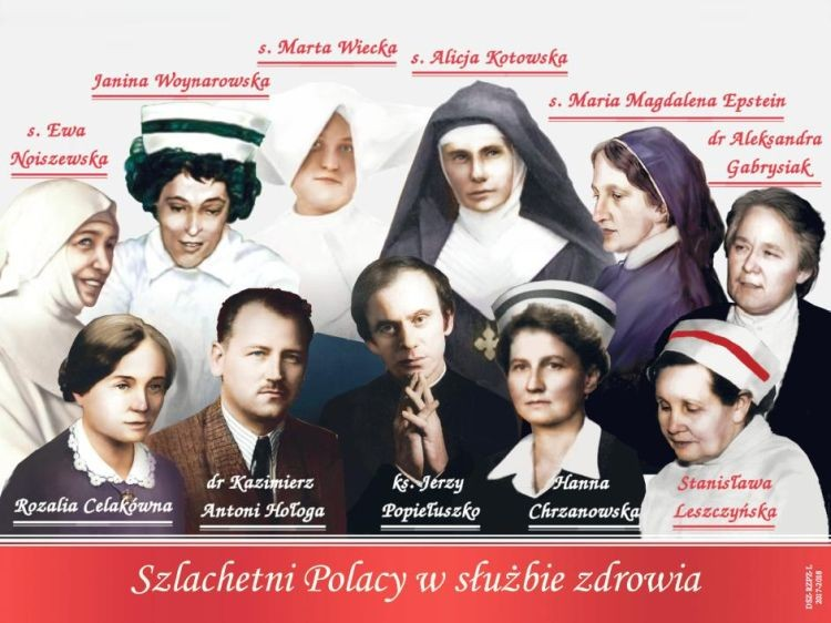 Szlachetni Polacy w służbie zdrowia