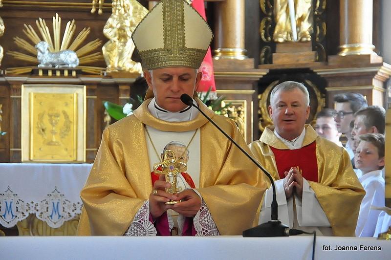 Tereszpol. Intronizacja relikwii św. Jana Pawła II