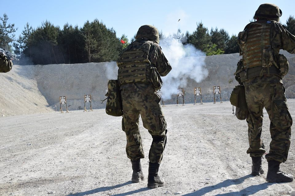 Terytorialsi ćwiczyli na nowej strzelnicy i w kamieniołomach