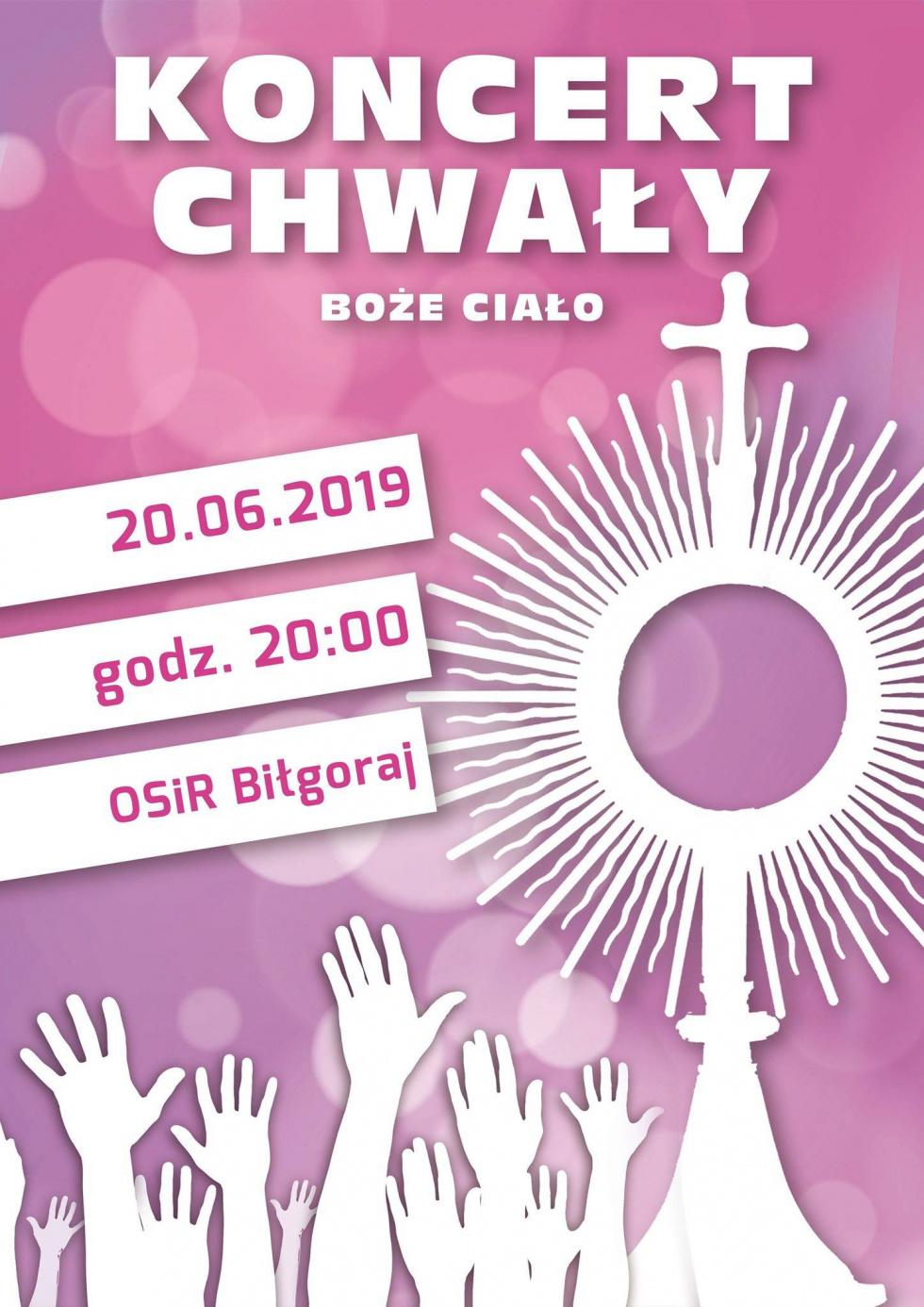 Koncert Chwały w Biłgoraju