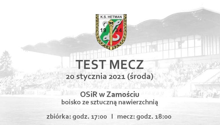 Test mecz Hetmana