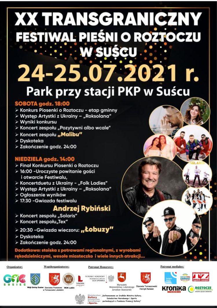 Transgraniczny Festiwal Pieśni o Roztoczu w Suścu