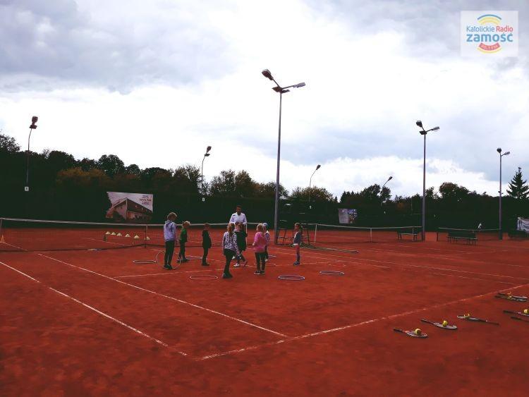 """Turniej tenisowy """"Pożegnanie lata"""" II"""