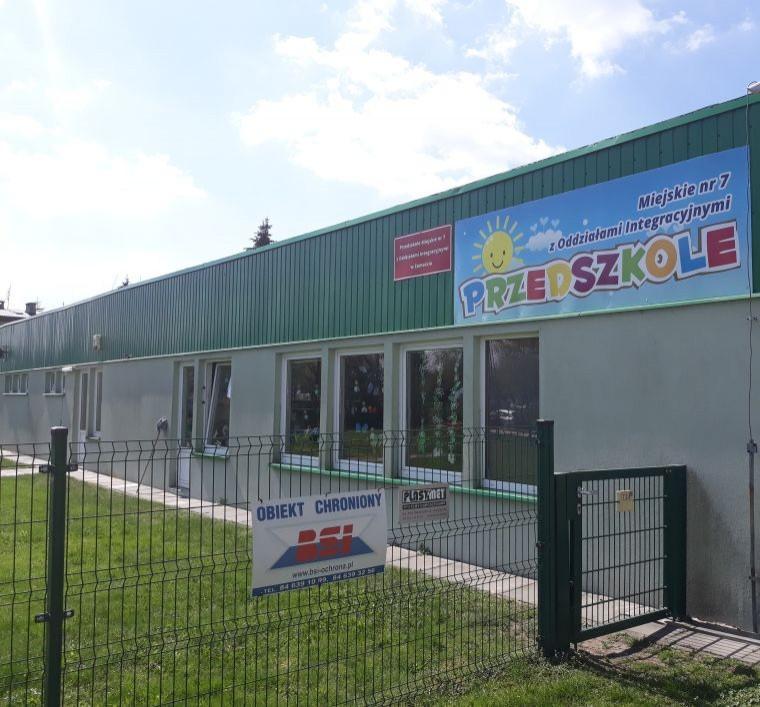Tydzień bezpieczeństwa w Przedszkolu Miejskim nr 7 w Zamościu