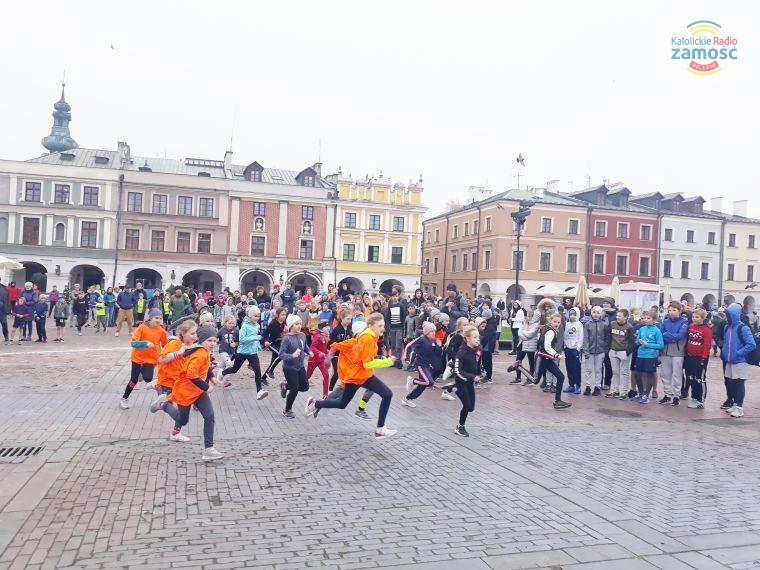 Uczcili Dzień Niepodległości biegając