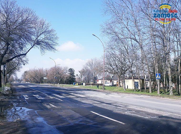 Ulica Szczebrzeska w remoncie
