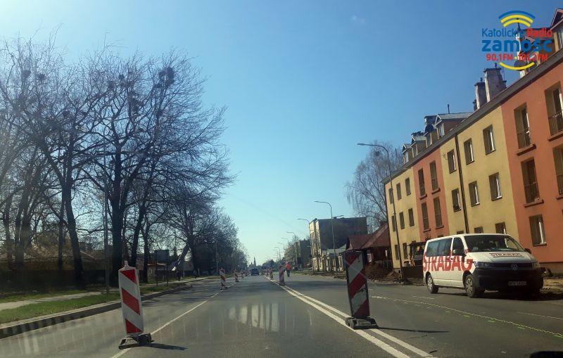 Utrudnienia na ulicy Piłsudskiego