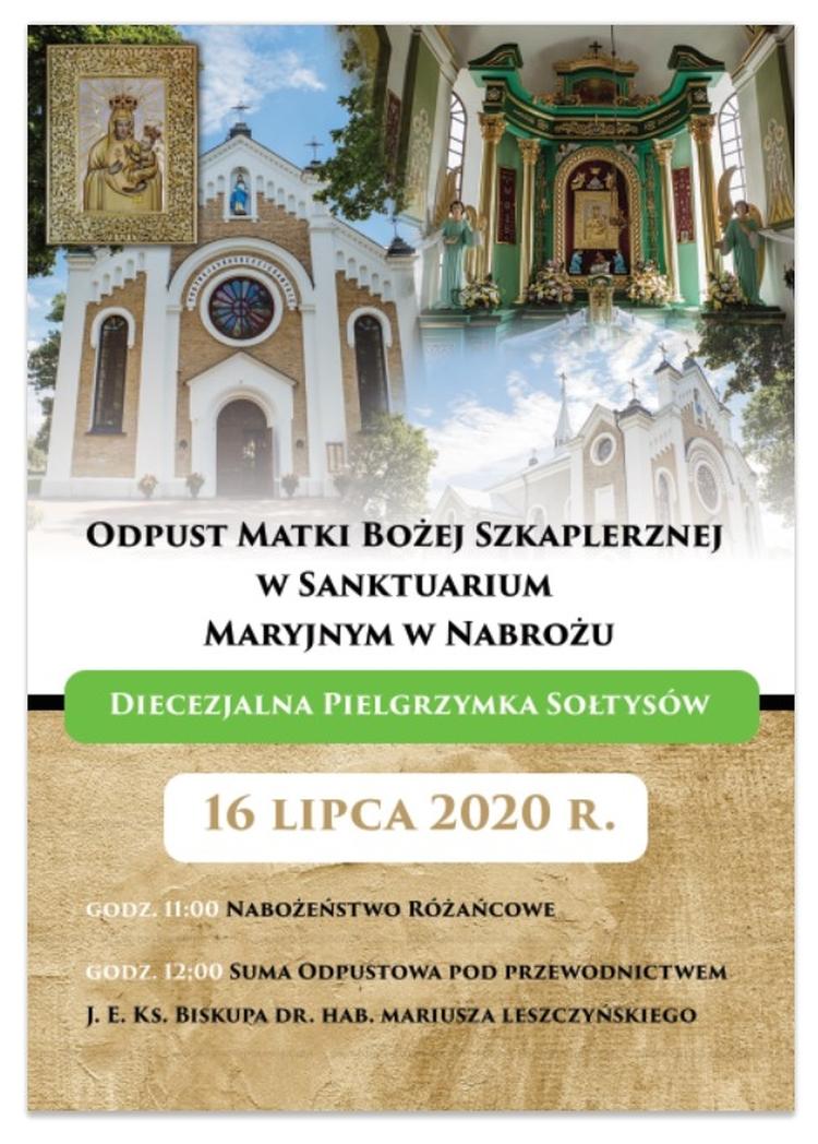 VI Diecezjalna Pielgrzymka Sołtysów w Nabrożu