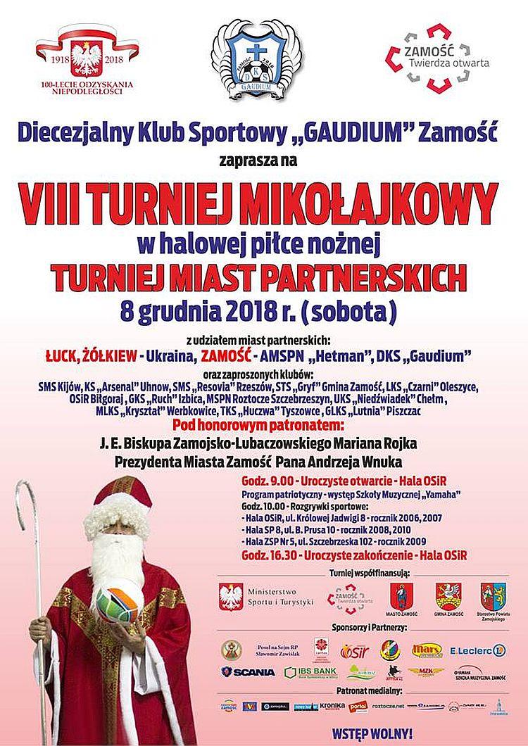 VIII Turniej Mikołajkowy
