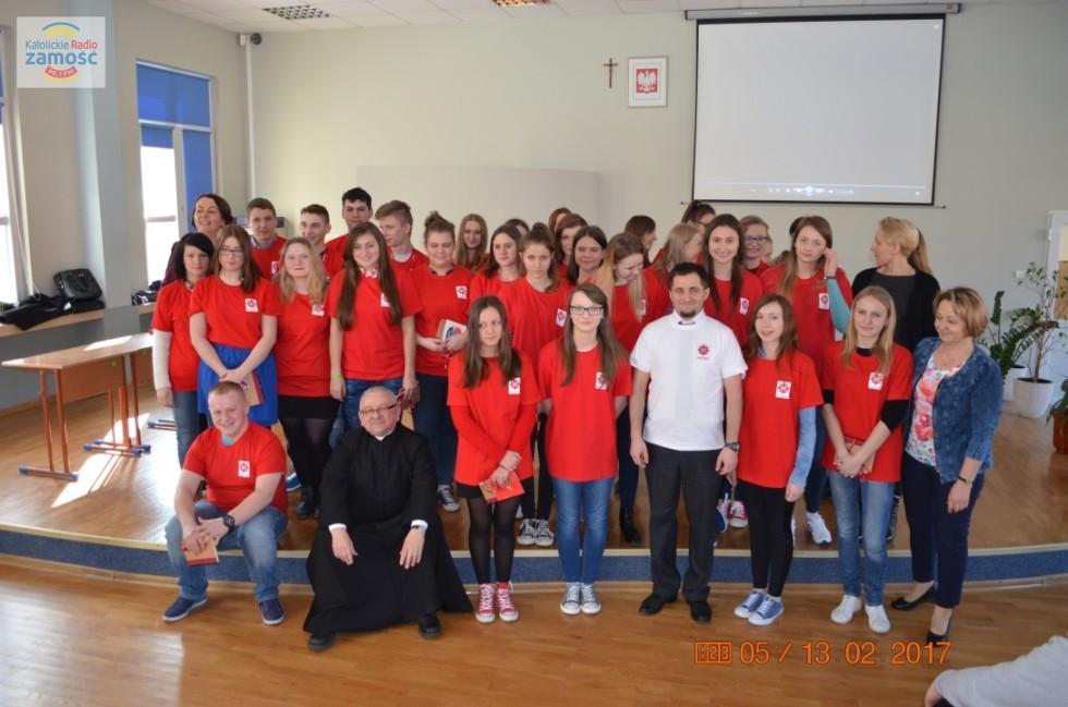 W Oleszycach powstało Szkolne Koło Caritas