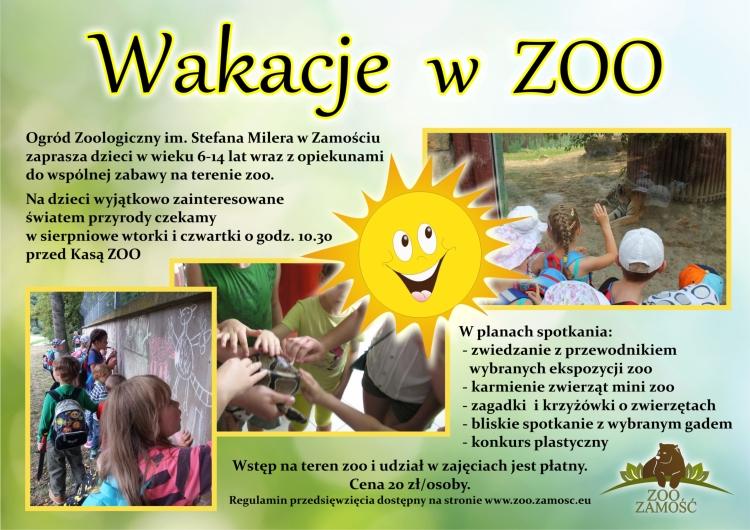 Wakacje w zoo