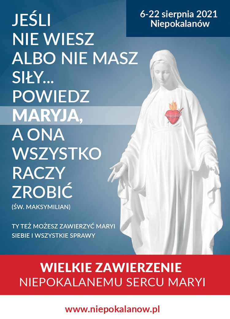 """""""Wielkie Zawierzenie Niepokalanemu Sercu Maryi"""""""