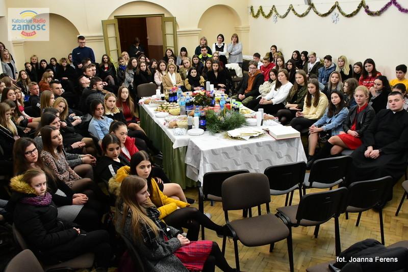 Wigilia w biłgorajskim 'Katoliku'