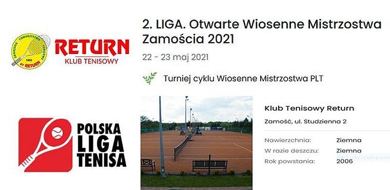 Wiosenne Mistrzostwa Zamościa 2021 w ramach II Ligi - ruszyły zapisy dla…