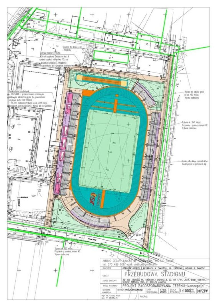 Wizualizacja stadionu
