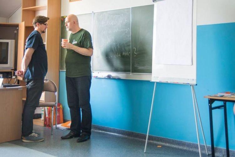 Wojciech Czeronko i Karol Wojtyna