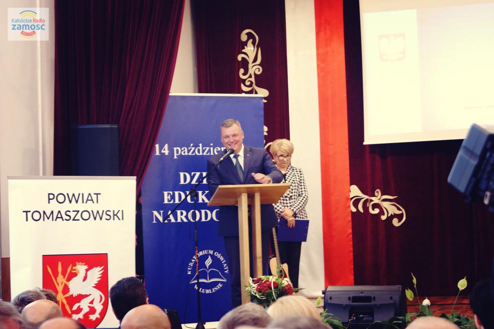 Wojewódzkie obchody Dnia Edukacji Narodowej w Tomaszowie