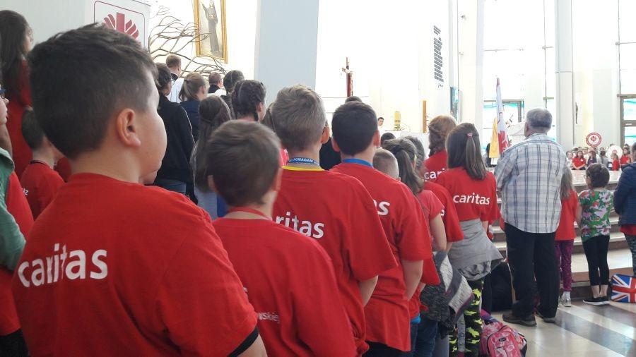 Wolontariusze Caritas w Łagiewnikach