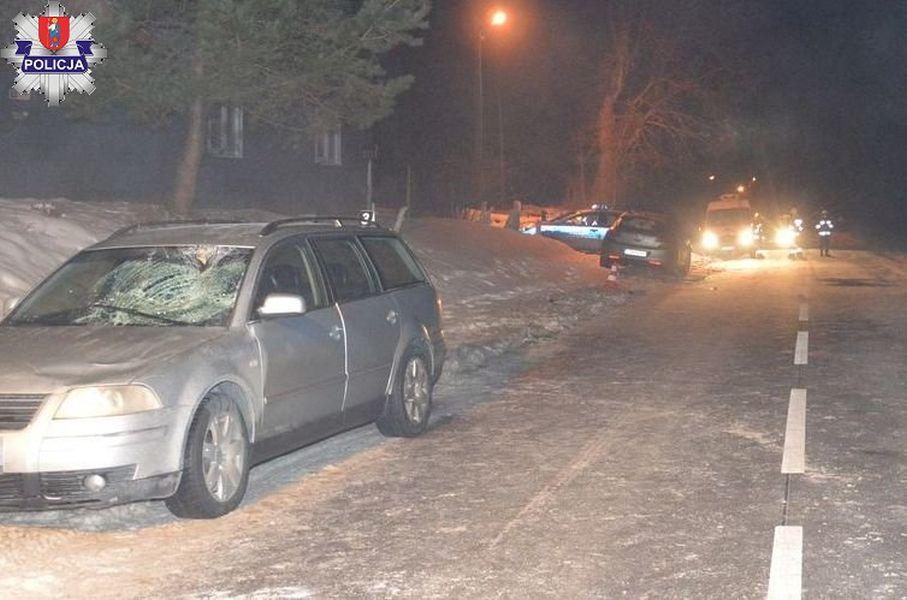 Wypadek w Kosobudach