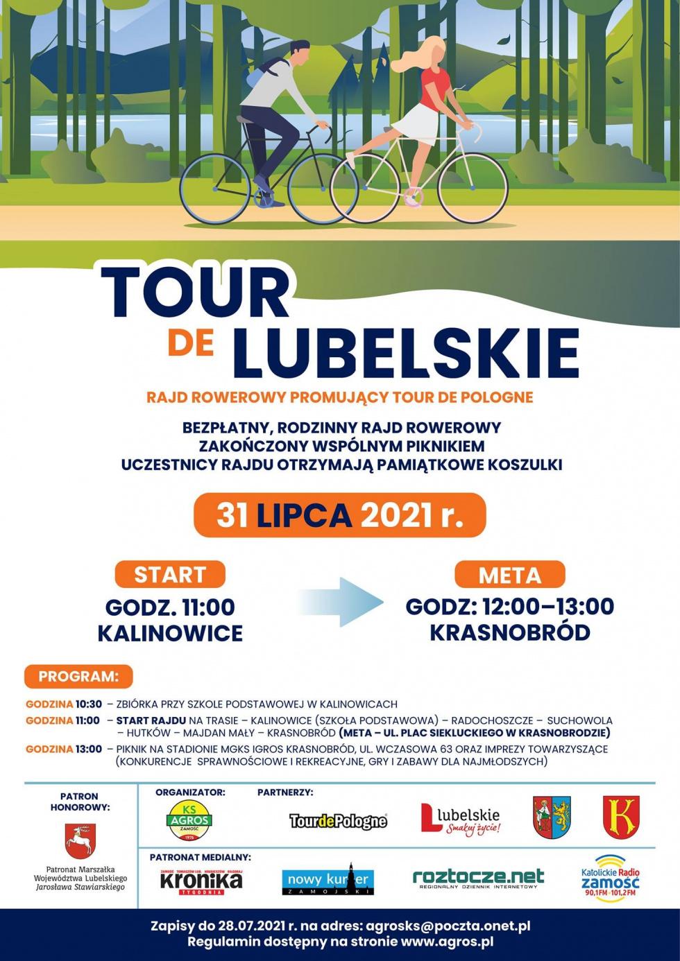 Wystartuj w rajdzie Tour de Lubelskie