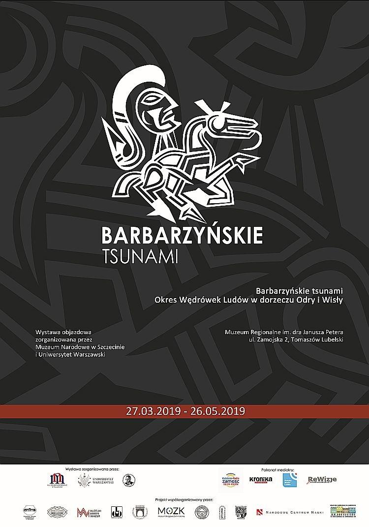Wystawa 'Barbarzyńskie tsunami. Okres Wędrówek Ludów w dorzeczu Odry i Wisły' 27.03.2019-26.05.2019