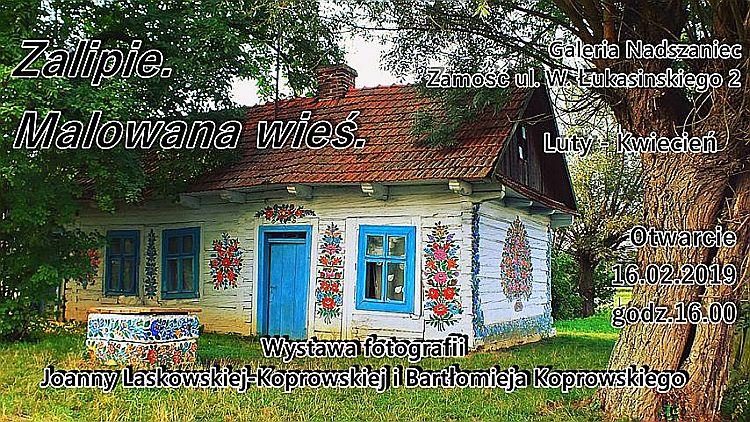"""Wystawa fotograficzna pt. """"Zalipie. Malowana wieś"""""""