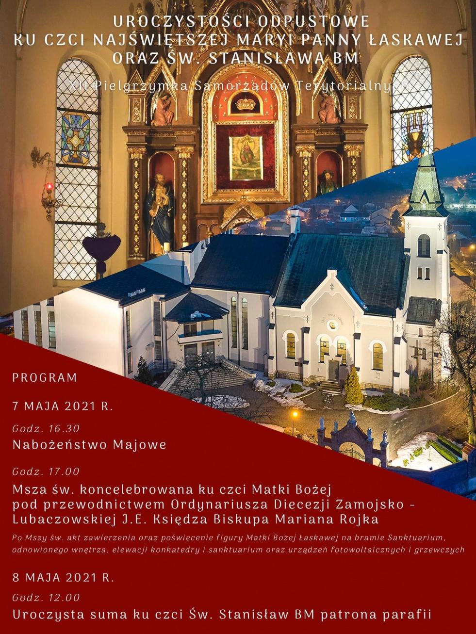 XII Pielgrzymka Samorządów Terytorialnych do Lubaczowa