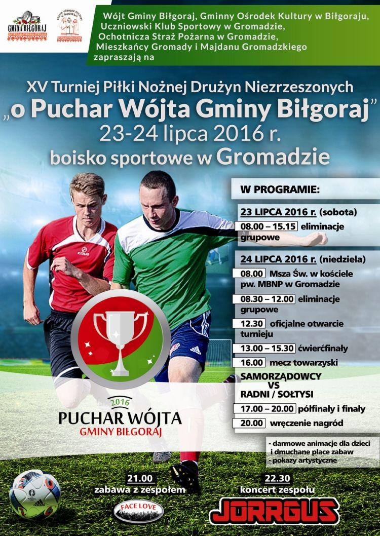 XV Turniej Piłki Nożnej Drużyn Niezrzeszonych w Gromadzie
