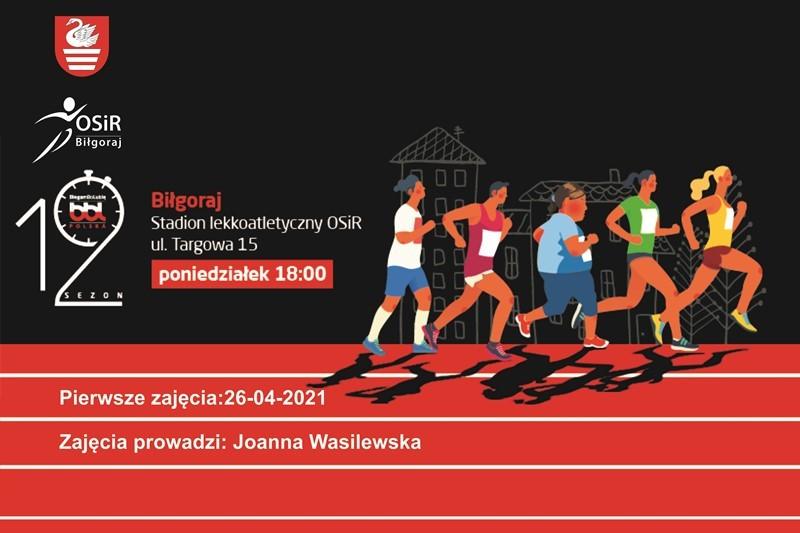 Zajęcia biegowe w Biłgoraju i Zamościu