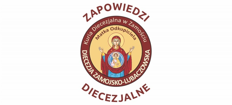 Zapowiedzi diecezjalne 14 czerwca