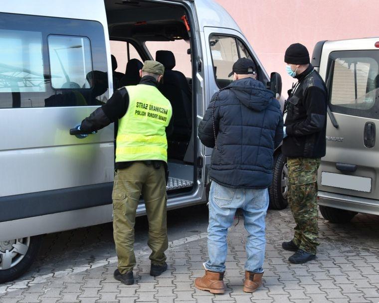 Zatrzymano nielegalnego migranta z Iranu
