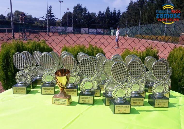 Zawodnicy pożegnali letni sezon tenisowy