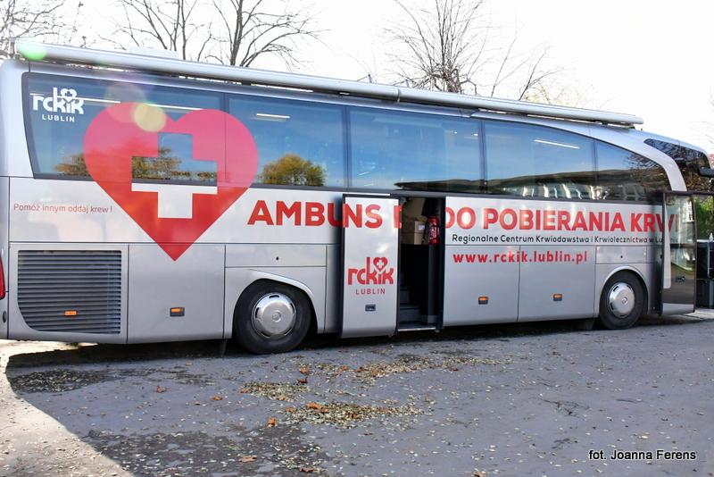 Zbiórka krwi w biłgorajskim 'Medyku'