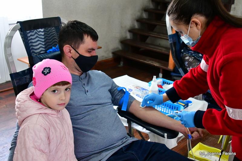 Zbiórka krwi w Łukowej