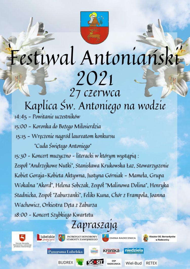 Festiwal Antoniański w Radecznicy