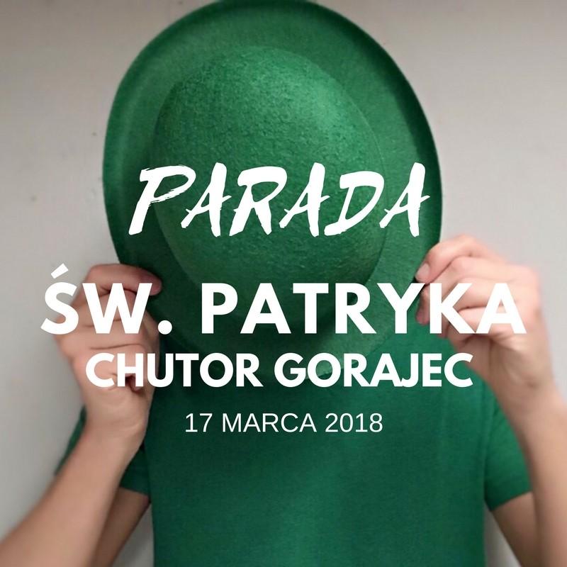 Zielono mi – czyli świętujemy Dzień św. Patryka w Gorajcu.