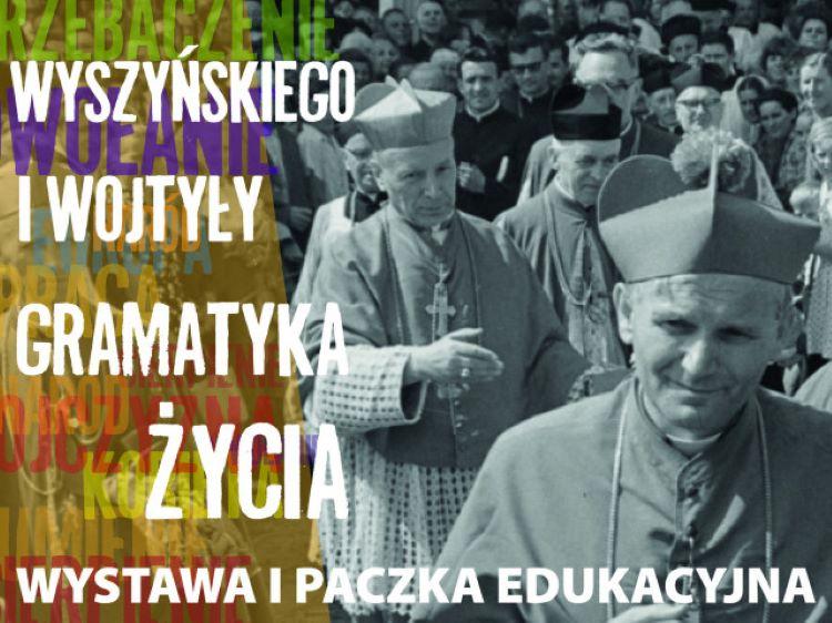 """Zniszczono wystawę pt. """"Wyszyńskiego i Wojtyły gramatyka życia"""""""