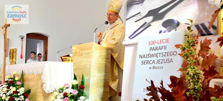 100-lecie parafii w Biszczy