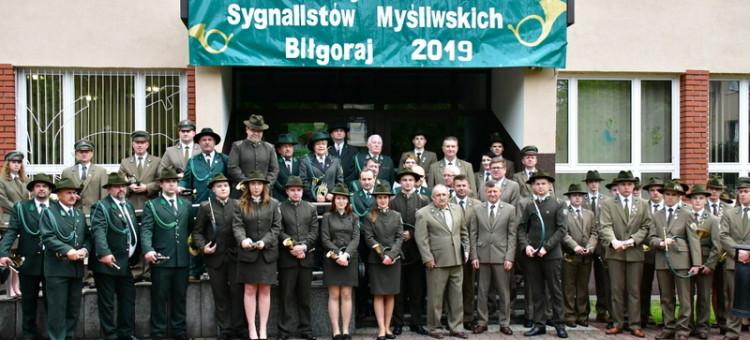 Biłgoraj. XIX Kresowy Konkurs Sygnalistów Myśliwskich