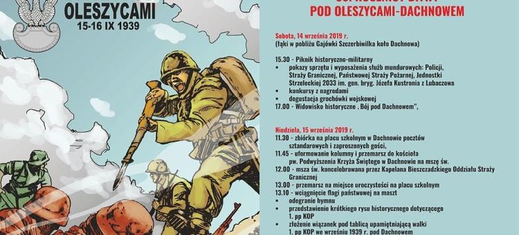 """""""Bój pod Dachnowem"""" - 80. rocznica bitwy pod Oleszycami - Dachnowem"""