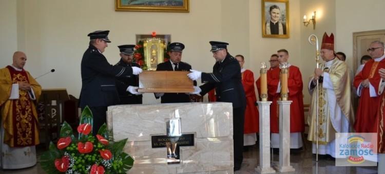 Intronizacja relikwii bł. ks. Zygmunta Pisarskiego.