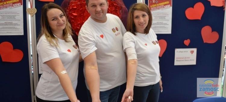 Walentynkowa akcja poboru krwi