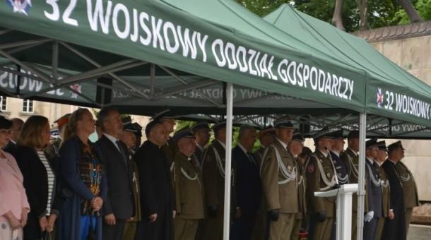 Nadanie im. Jana Zamoyskiego 32 Wojskowemu Oddziałowi Gospodarczemu