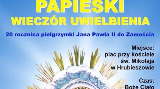 Papieski Wieczór Uwielbienia w Hrubieszowie