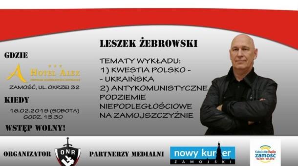 Spotkanie z Leszkiem Żebrowskim